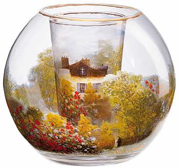 Objetos de cristal y porcelana inspirados en obras de arte contempor neo arteespa a - Portavelas grandes ...
