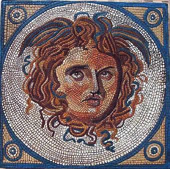 Reproducciones pintadas a mano sobre yeso imitaci n de for El mural de mosaicos