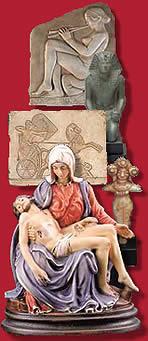 'Próximos cursos presenciales' from the web at 'http://www.arteespana.com/esculturas/variasesculturas.jpg'