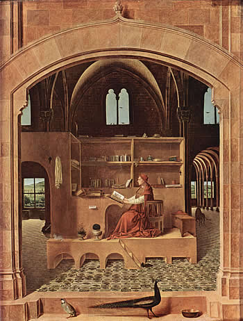 Pinturas antiguas relacionadas con la Biblia Antonellodemessina