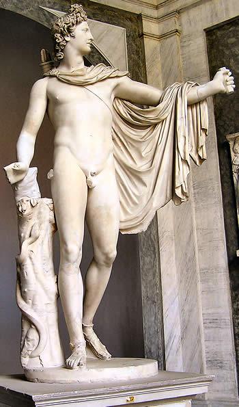 Apolo de Belvedere. Fase helenística del arte griego
