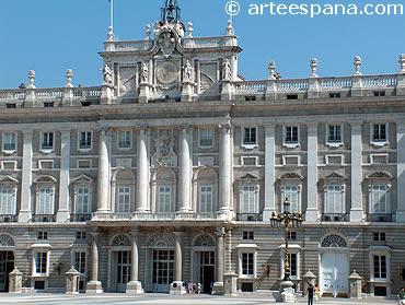 Arte Borbónico. Palacio Real de Madrid
