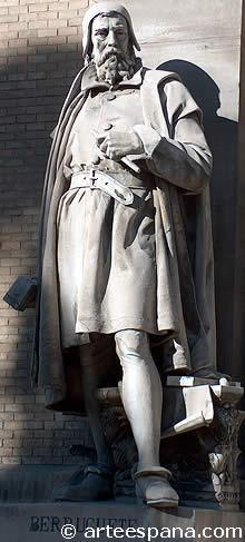 Monumento a Berruguete, genio de la Escultura del Renacimiento en España