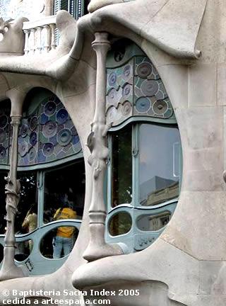 Arquitectura modernista: Casa Batlló.