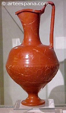 Artes menores romanas Definicion de ceramica