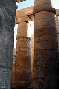Arquitectura arquitrabada: columnas y dinteles