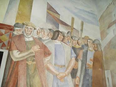 Murales de la Rábida. Daniel Vázquez Díaz