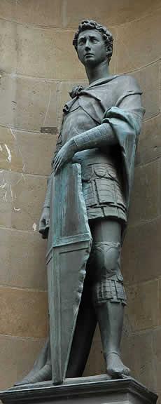 San Jorge, de Donatello