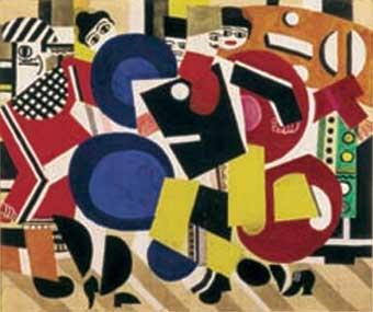 Fernand Leger. Cubismo