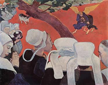 La visión después del sermón. Gauguin