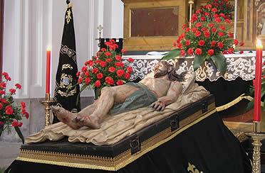 Cristo Yacente. Gregorio Fernández