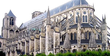 Gótico en Europa: Catedral de Bourges