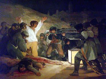 Francisco de Goya: Los fusilamientos del 3 de mayo
