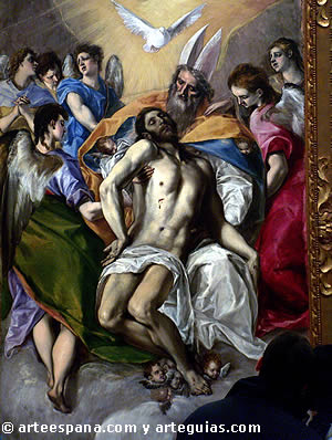 'El Greco' from the web at 'http://www.arteespana.com/imagenes/greco.jpg'