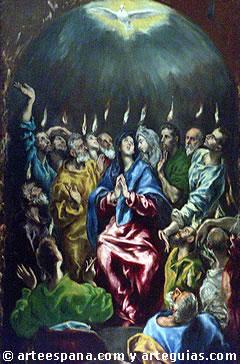 'El Greco' from the web at 'http://www.arteespana.com/imagenes/greco2.jpg'