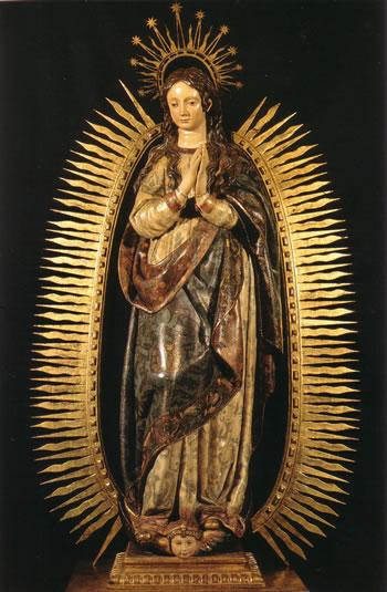 Inmaculada, de Gregorio Fernández