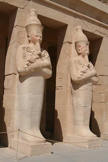 Parte del Templo de la Reina Hatshepsut