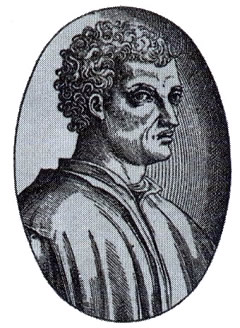 León Battista Alberti. Retrato