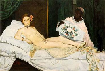 Olympia de Manet: precursos del Impresionismo
