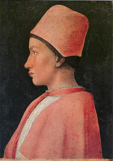 Francesco Gonzaga retratado por Mantegna