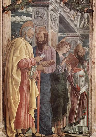 Detalle de la Pala de San Zeno