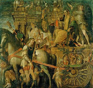 Los triunfos de César, novena tela