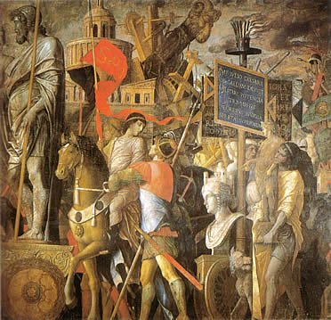 Segunda tela de los triunfos de César