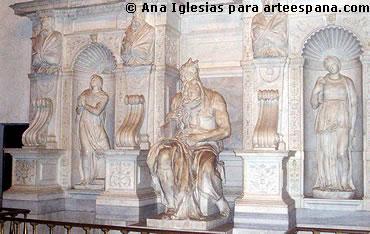 Moises de Miguel Ángel.  Escultura del Cinquecento