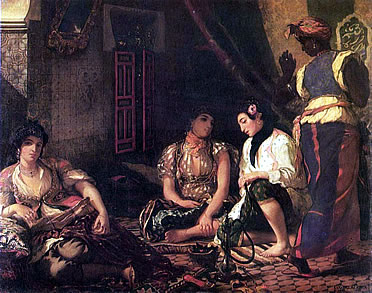 Mujeres de Argel. Delacroix