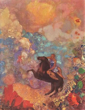 Pintura de Odilon Redon