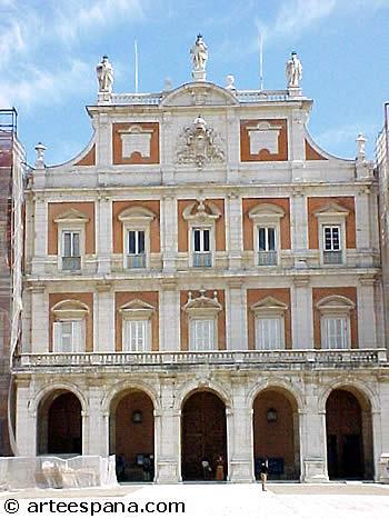 Arte de los Borbones: Palacio de Aranjuez