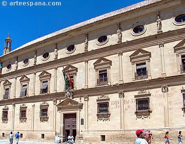 Palacio de Vázquez de Molina o de las Cadenas (actual ayuntamiento de Úbeda) de Andrés de Vandelvira
