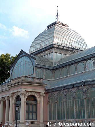 Arquitectura del Hierro: Palacio de Cristal
