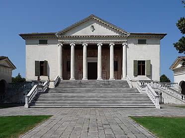 'Villa Badoer, en Fratta Polesine' from the web at 'http://www.arteespana.com/imagenes/palladio-villabadoer.jpg'