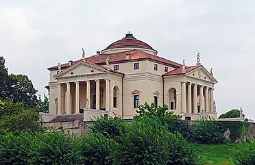 """'Villa Capra, conocida como """"La Rotonda"""", la más célebre de las villas palladianas' from the web at 'http://www.arteespana.com/imagenes/palladio-villacapra.jpg'"""