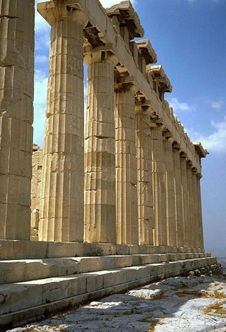 Partenón. Joya de la arquitectura griega