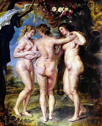 Las Tres Gracias, de Pedro Pablo Rubens