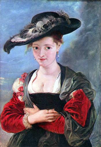 Retrato de Susanna Fourment. Rubens