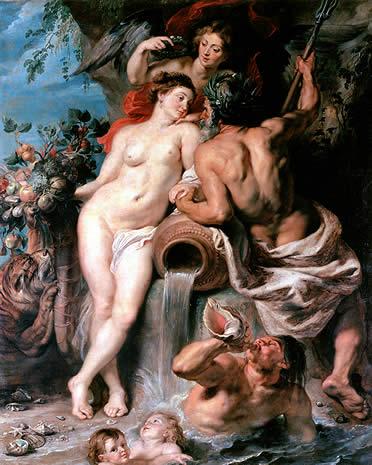 Unión de Agua y Tierra. Rubens