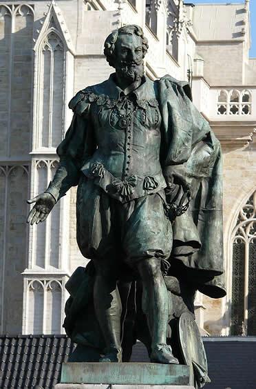 Estatua de Rubens
