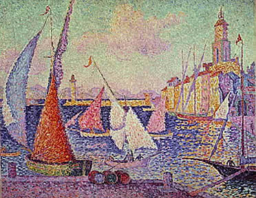 Paul Signac: Regata en Saint Tropez