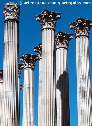 Arquitectura romana en España: Templo romano de Córdoba
