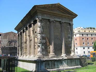 Templo de la Fortuna Viril o de Portunus