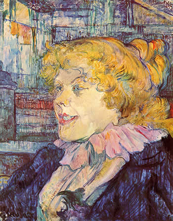 Miss Dolly.  Toulouse-Lautrec