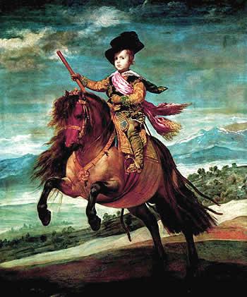 Príncipe Baltasar Carlos, de Diego Velázquez