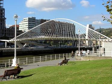 puente peatonal del campo de volantn de bilbao