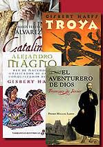 'El Greco' from the web at 'http://www.arteespana.com/librosnovelahistorica/variasnovelas.jpg'