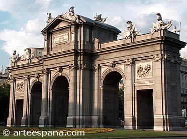 Puerta de Alcalá de Francisco Sabatini